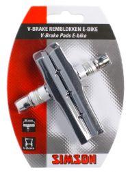 E-BIKE V-BRAKE BREMSBELÄGE