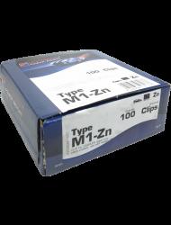 Haltefeder M1-Zn, sw